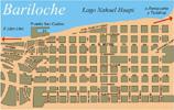 Plano del Centro de Bariloche